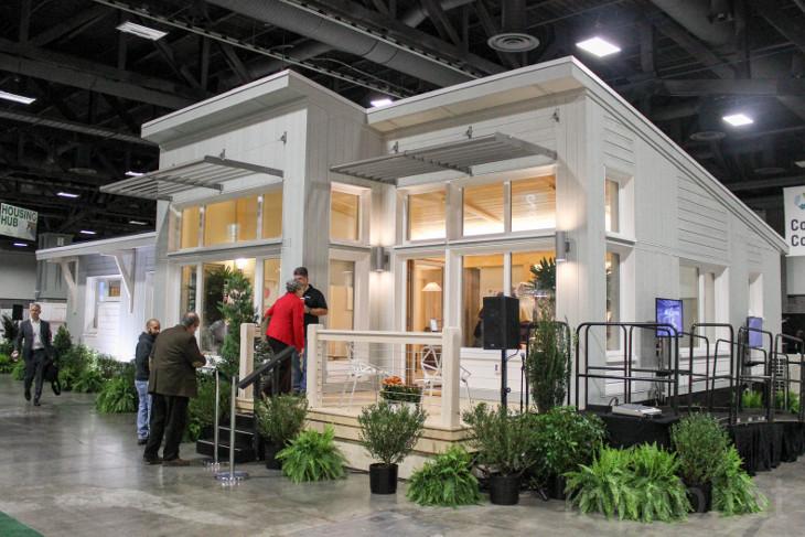 Small modular home model