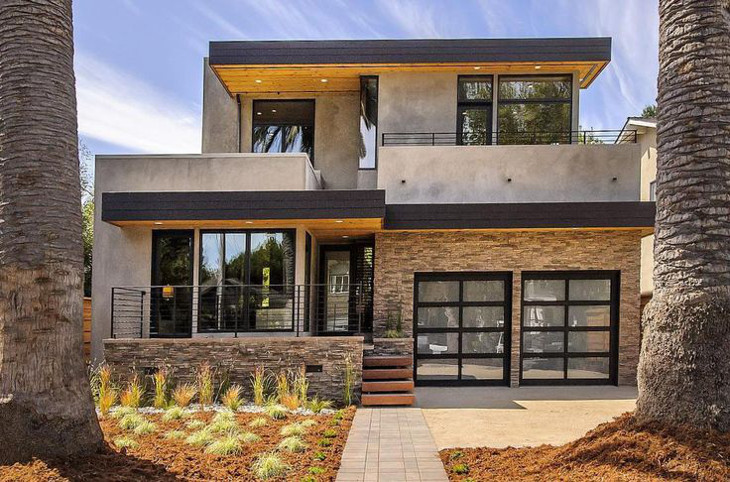 Energy-efficient two-storey home