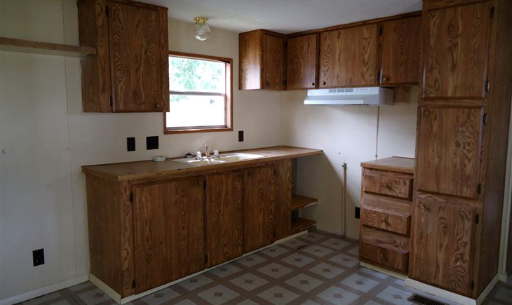 Painting Mobile Home Cabinets A New Look For Your Cabinets