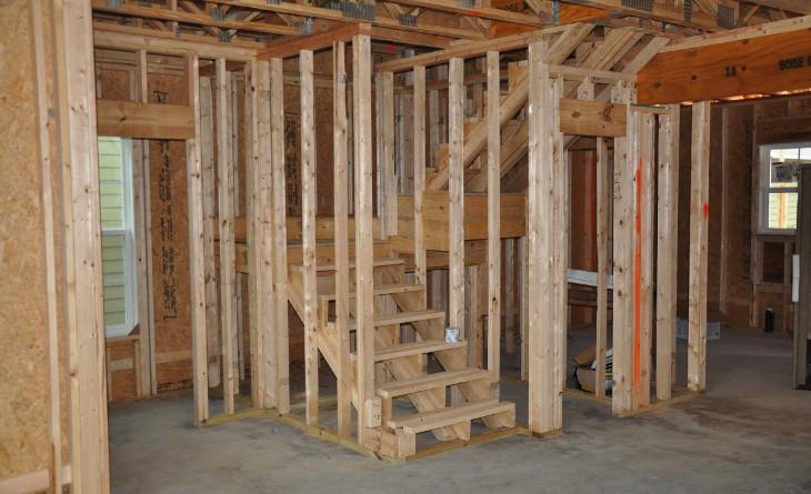 Constructing a home basement