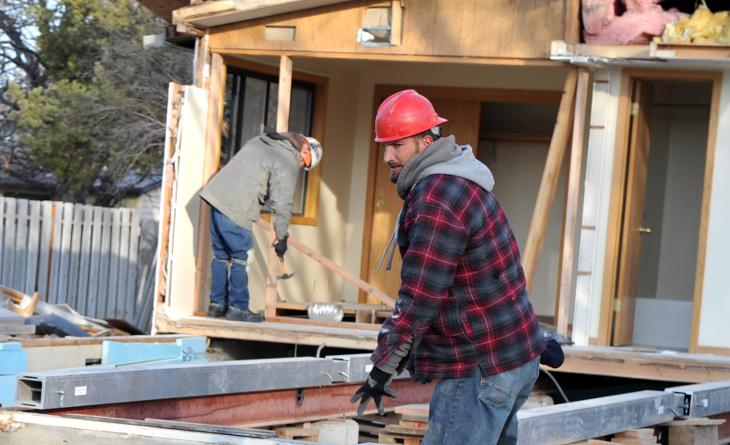 Home builders working