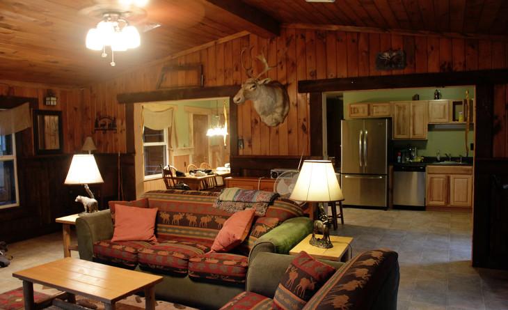 Hunter's mobile home