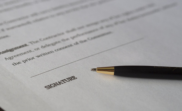 Loan awaiting signature