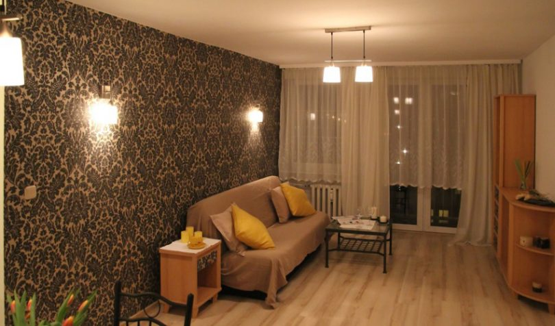 Luxury mobile home interior