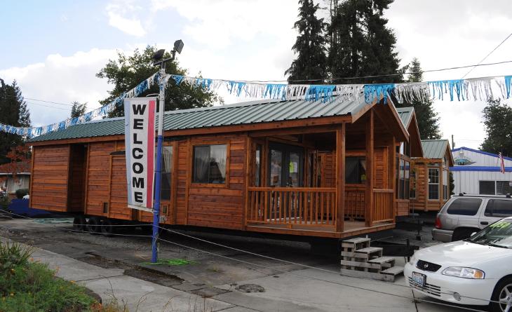Mobile homes showcase