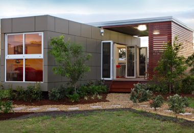 Modern single wide modular home