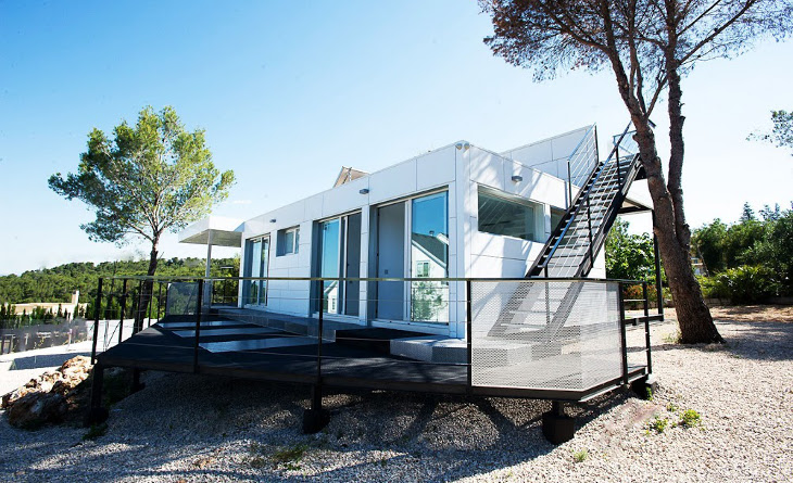 Modular home with good insulation