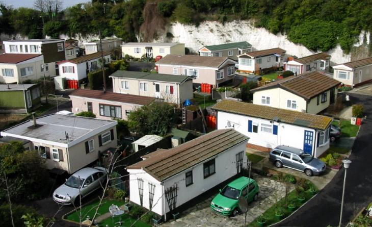 Neighborhood of mobile homes