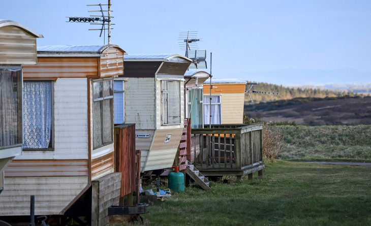 Old mobile homes