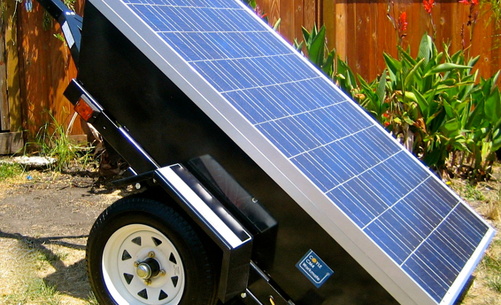 Photovoltaic system ready for installation