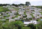 Single wide mobile homes caravan
