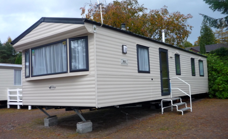 Single wide mobile house