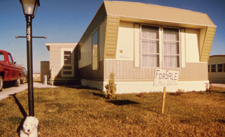 Vintage single wide home